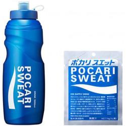 Pocari Sweat 1L Bottle Set