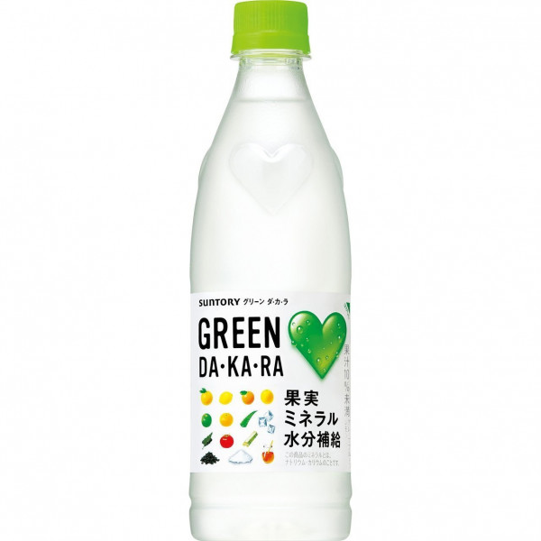 Suntory GREEN DAKARA 500ml
