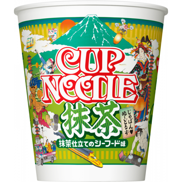 Nissin Cup Noodle Green Tea Seafood