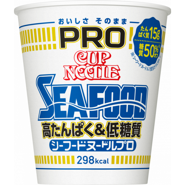 Nissin Cup Noodles Seafood PRO