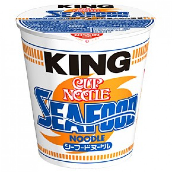 Nissin Cup Noodle Seafood King size