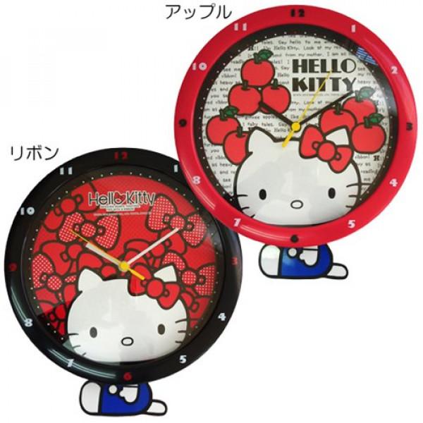Hello Kitty pendulum wall clock
