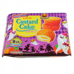 Lotte Custard Cake Halloween Party Pack