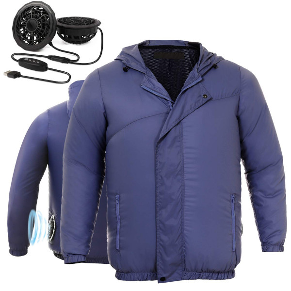 Air Cooling Jacket with Dual Fans