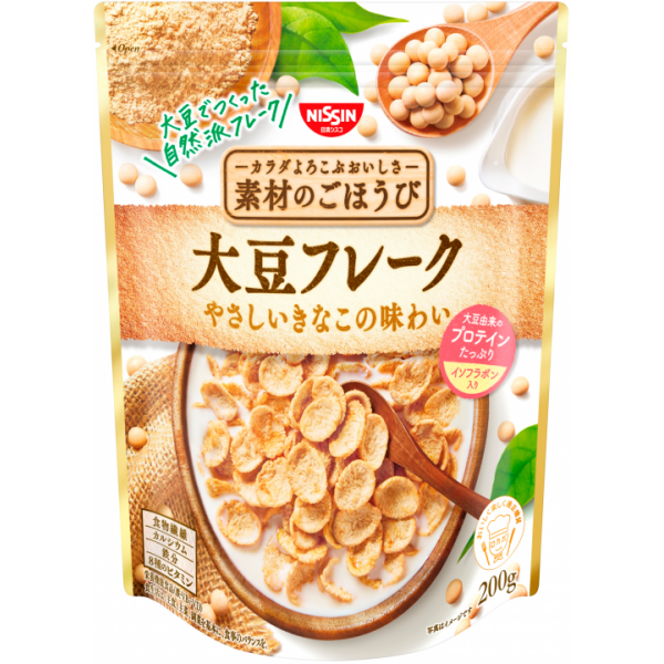 Japanese Cereal - Soy Flakes