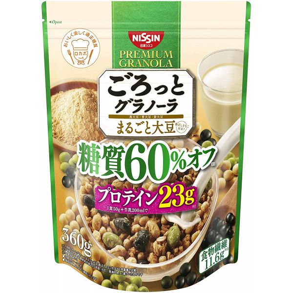 Japanese Cereal - Premium Granola Whole Soybean with less sugar