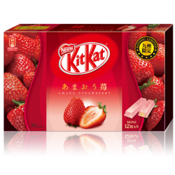 Japanese Kit Kat mini Amaou Strawberry