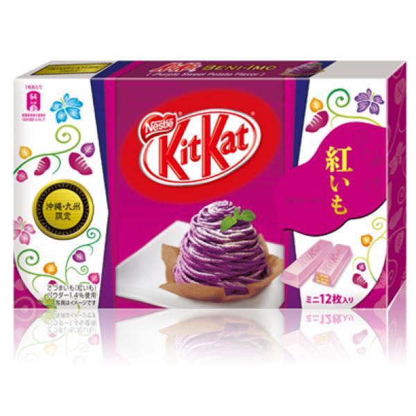 Japanese Kit Kat mini Beniimo