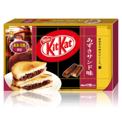 Japanese Kit Kat mini Red Bean flavor