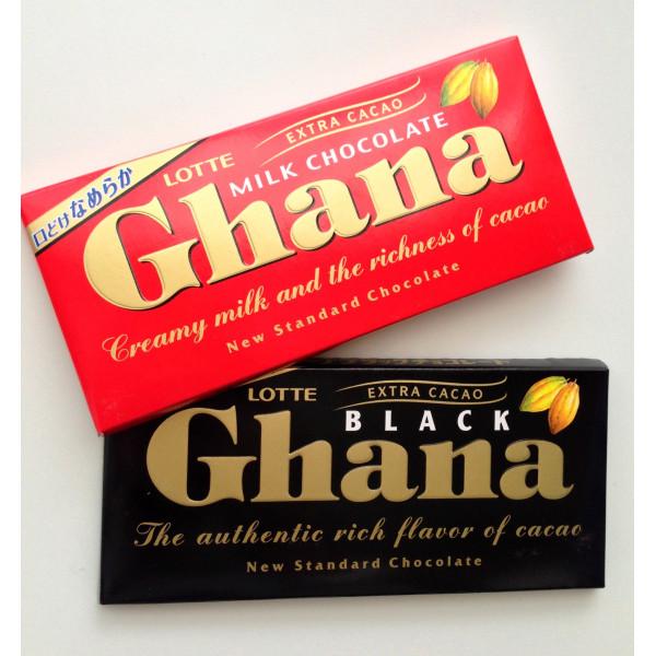 Lotte Ghana Milk Chocolate Ingredients