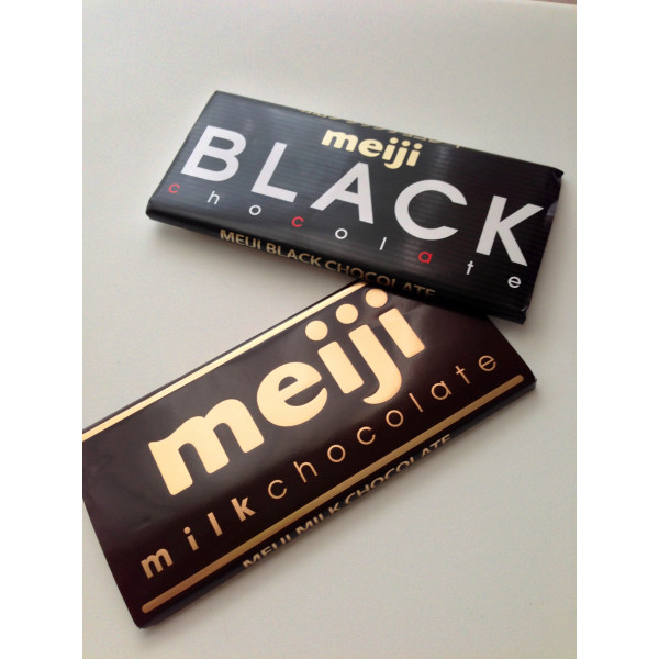 Meiji Chocolate Bars