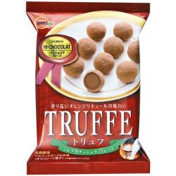 Truffe milk ganache chocolate