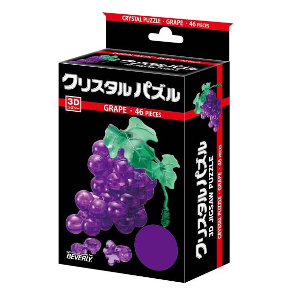3D Crystal Puzzle -  Grape